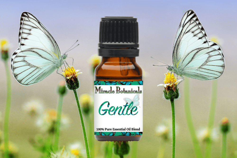 Gentle Essential Oil Blend with Butterflies