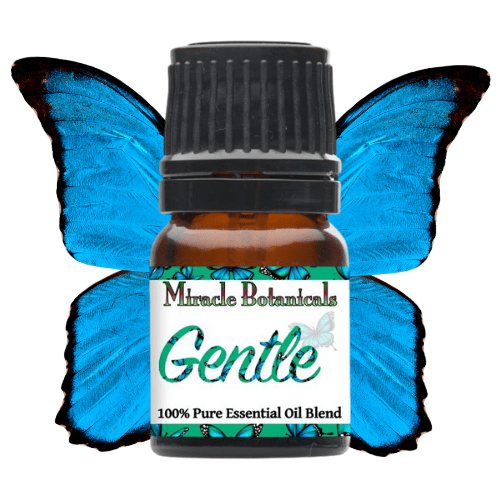 Gentle Essential Oil with Butterfly Wings